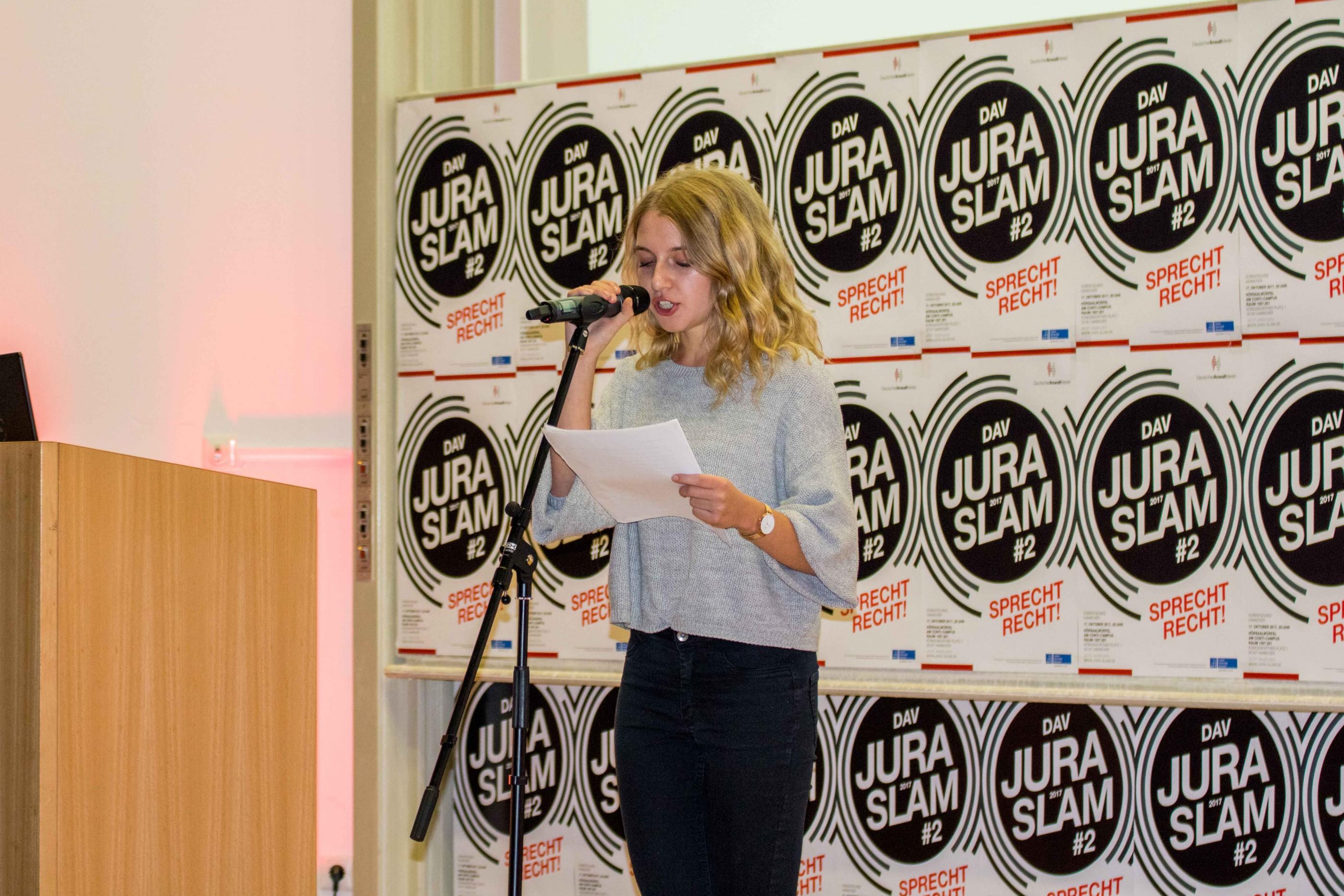 Jura-Slam 2017 - Deutscher Anwaltverein